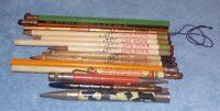 lot of 14: Pencils - Livestock & Lumber + Misc (14 pc)