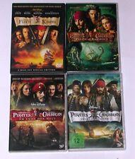 DVD: Sammlung FLUCH DER KARIBIK 1-4 1 + 2 + 3 + 4 / Komplett Deutsch