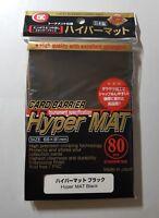 KMC Hyper Matte Black Sleeves - 80 Count - MAT MTG Magic Gathering Pokemon