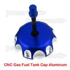 CNC Gas Fuel Tank Cap For Yamaha YZ 125/250 YZ250F/450F YZ85 WR250F WR450F Blue