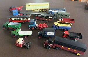 Quantity of Merit/Airfix etc 00Gauge 1/76 Scale Model Railway Kit Built Vehicles