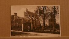 Postcard unposted Hampshire Winchester cathedral