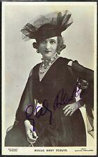 More details for ☆ gaby deslys ☆ vintage 1900 french singer/actress autographed / signed postcard