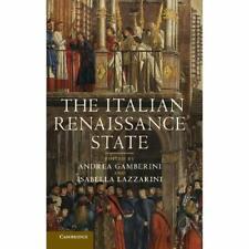 The Italian Renaissance State Hardcover Cambridge University Press 9781107010123