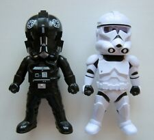 KO KNOCK OFF STAR WARS CLONE TROOPER AND TIE FIGHTER PILOT TOY ACTION FIGURE