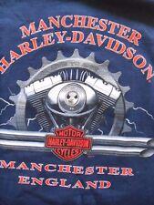2 Harley Davidson T Shirts Top Manchester L