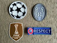 Parches Champions + Mundialito FIFA 2016 + 11 copas + RESPECT para Real Madrid