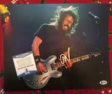 Dave Grohl Nirvana Rock N Roll Beautiful Signed Autographed 11x14 Photo Beckett