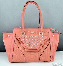 Nuevo Bolso GUESS Kiss Me Totes Mujer Tangerine NeuF