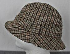 Vintage Made In Great Britain Wool Blend Plaid Bucket Hat Mens XL