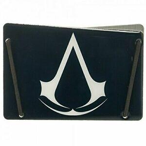 Assassins Creed Logo Design RFID Blocking Slim Aluminium Card Wallet