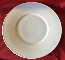 "NEW Royal Doulton Barber & Osgerby Loop LARGE 12 1/2"" Serving Chop Dinner Plate"
