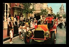 Dr Jim Stamps Us Mickey Mouse Fire Engine Walt Disney World Florida Postcard