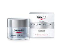 Eucerin Anti-Age Hyaluron-Filler NIGHT CREAM 50ml  Reduction of Visible Wrinkles