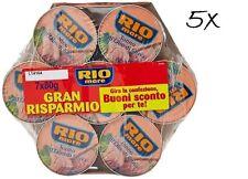 35x Rio Mare Tonno all'olio di oliva 5x Mega pack Thunfisch in Olivenöl 7 x 80g