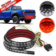 """5Ft/60"""" Truck Tailgate LED Strip Bar Brake Signal Backup Light for Silverado"""