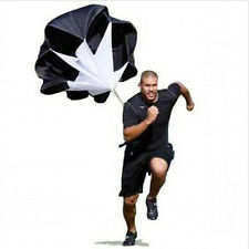 56'' Parachute Power Running Resistance Training Track & Field Speed Chute