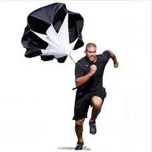56'' Parachute Power Running Resistance Training Track & Field Speed Chute
