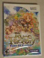Rune Factory: Tides of Destiny (Nintendo Wii, 2011) Natsume