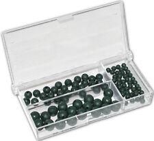 Behr Premium Gummi Perlen Gummiperlen Stopper Sortiment Angeln 4-8mm 100 Stück
