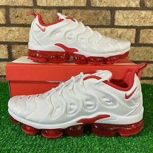 💥 Nike Air Vapormax Plus (DH0279-100) 'White/University Red' Sneakers 💥