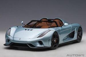 1:18 Koenigsegg Regera -- Horizon Blue -- AUTOart 79028