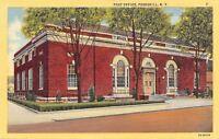 Peekskill New York~Post Office~1937 Linen Postcard