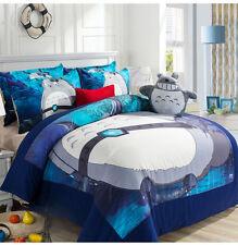 My Neighbor Totoro Duvet Cover Bedding Quilt Set Cotton Bedsheets Pillowcase Hot