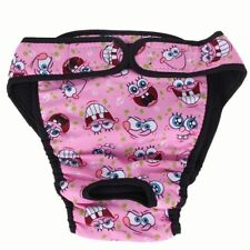 Cute Large/Med. And Small Dog Washable Female Dog Diaper Sanitary Pants