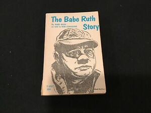 The Babe Ruth Story by Babe Ruth as told by Bob Considine 1967 Paper back book