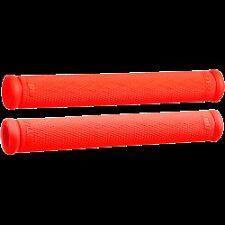 "NEW ODI 8""  RUFFIAN FIRE RED RUBBER GRIP SNOWMOBILE  STANDARD 7/8"" HANDLEBARS"