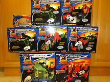 RARE 2010 Zhu Zhu Pet Hamster LOT of 7 TRACKS Special Forces Ninja Warriors