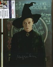 MAGGIE SMITH HARRY POTTER SIGNED AUTOGRAPHED PHOTO JSA SPENCE COA RARE!!