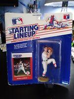 1988  Roger Clemens Starting Line Up Baseball Figure + Card Kenner Parker Toys