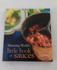 SLIMMING WORLD LITTLE BOOK OF SAUCES -- BRAND NEW ........