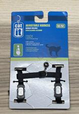 New listing Catit Nylon Adjustable Cat Harness, Medium, Black Nwt