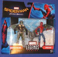 "Marvel Universe Movie Spider-Man Vulture 4"" Figure 2-Pack MIP 2017 Hasbro 1/18th"