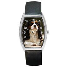 CAVALIER KING CHARLES SPANIEL DOG Pup LADIES MENS UNISEX BARREL WATCH 94289113