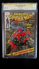AMAZING SPIDER-MAN #100 CGC 8.5 SS SIGNED STAN LEE 100TH ANNIVERSARY