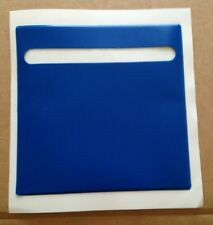 easy PLAIn blue any CAR TAX DISC LICENSE  PARKING PERMIT HOLDER  105x105mm