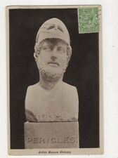 Pericles British Museum Statuary 1914 Postcard 760a