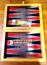 Dal Negro Backgammon magnetico da viaggio in elegante scatola in legno