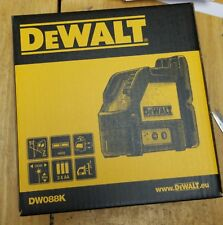 DEWALT DW088K-XJ  Cross Line Laser Self-Leveling Measuring Tools *New Packing*
