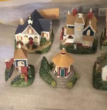 Liberty Falls Village Set, 19 Buildings Plus Extras, Very Nice