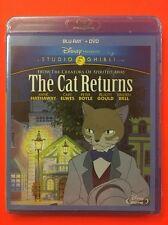 Cat Returns, The  (Blu-ray/DVD, 2015, 2-Disc Set) NEW; Studio Ghibli/Disney