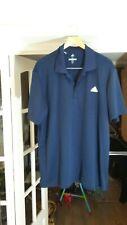 !! ADIDAS Men Navy Golf Polo Shirt Size XL