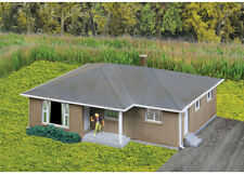 Walthers Cornerstone N Scale Building/Structure Kit Brick Ranch House/Home