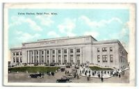 Early 1900s Union Station, St. Paul, MN Postcard