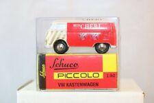Schuco Piccolo Volkswagen Kastenwagen Mon Cheri   neu perfect mint in box 1:90