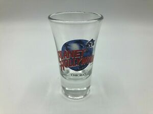 "Planet Holleywood CHICAGO Shotglass 3-1/2"" Tall  V7"